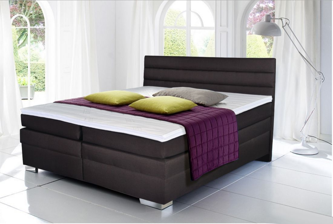 jak princezna na hr ku boxspring postele. Black Bedroom Furniture Sets. Home Design Ideas