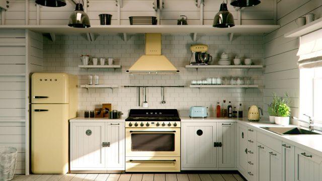 Víte, jak vnést do kuchyně správnou retro atmosféru?