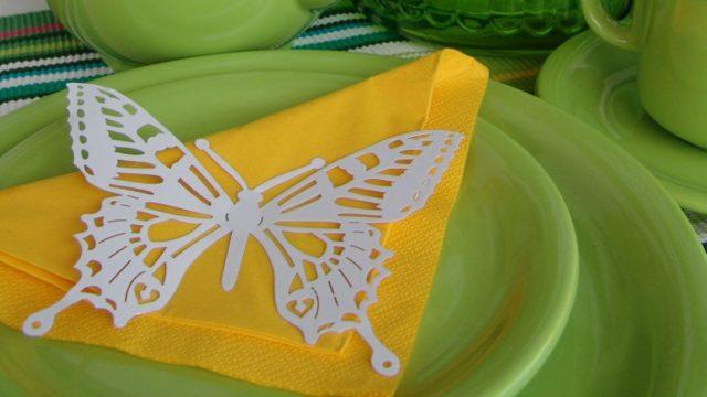 Jak si udělat motýlí dekorace