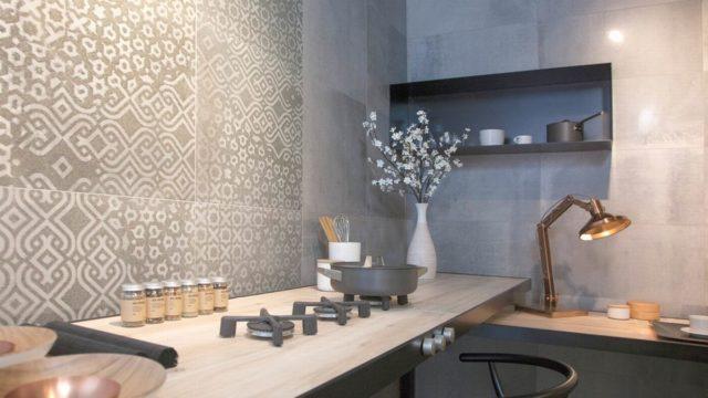 Porcelánové dlaždice jako originální obklad adekorace