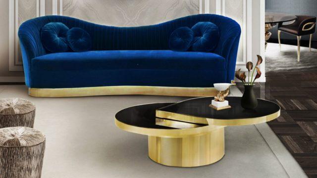 Zlatá barva dodá šťávu moderním interiérům. Jak nesklouznout do kýče?