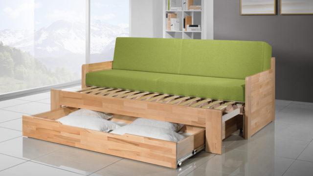Nedostatek prostoru vyřeší rozkládací postel