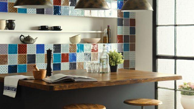 Nápadité mozaiky dají interiéru nový rozměr