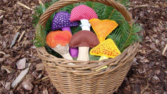Letní tvoření sdětmi: Jdeme na houby!