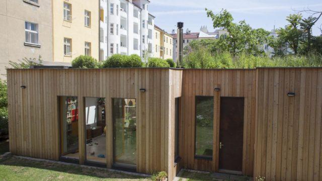 Nejlepším ekologickým projektem je úsporný dům smokřadní střechou