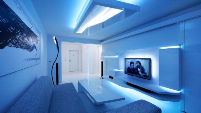 Myslíte si, že bez dekorací se žádný interiér neobejde? Podívejte se na byt, který je celý vbílé