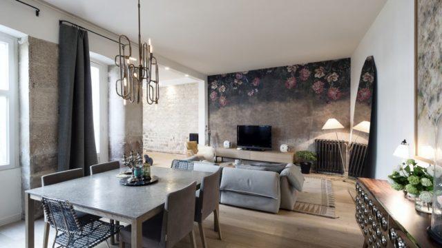 Návštěva typického pařížského retro apartmá