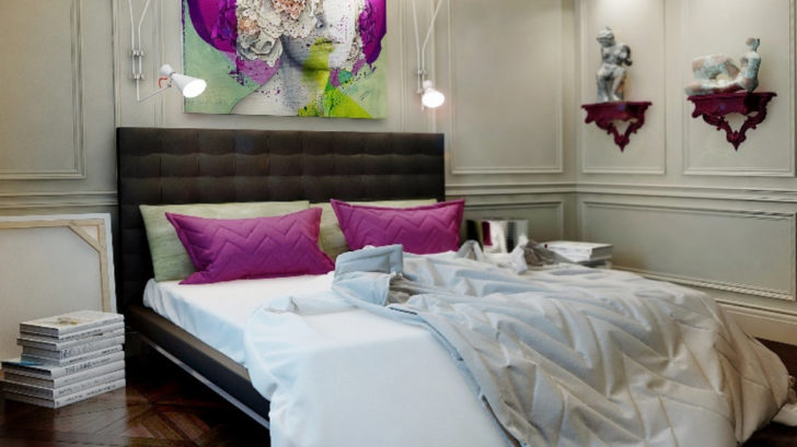 2delightfull_colorful-bedroom_modern-bed-with-art-deco-fun-white-wall-lamp-728x409.jpg