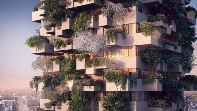 Vertikální les vyroste vnizozemském Eindhovenu