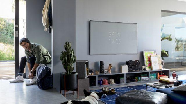 Televize – chameleon splyne se stěnou astane se neviditelnou