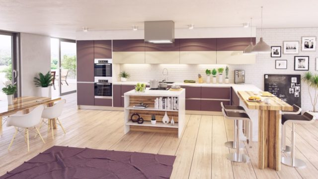 Veselé barvy dodají kuchyni potřebnou šťávu