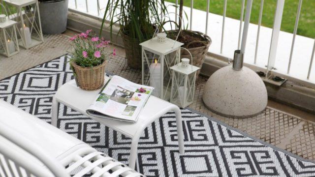 Tipy pro velký relax na malém balkoně