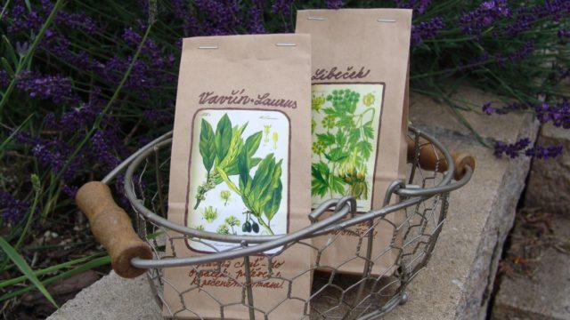Jak si udělat sáčky na sušené bylinky