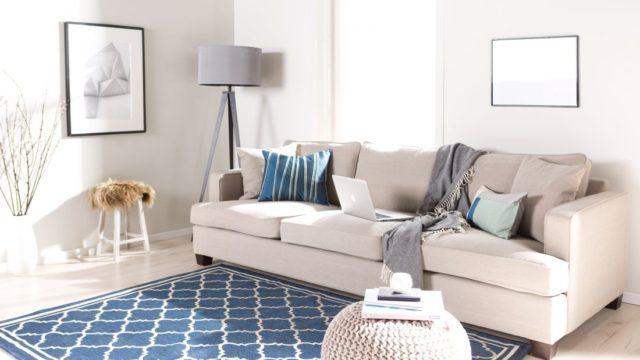 5 důvodů pro modrý interiér