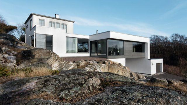 Elegantní proměna domu do stylu Bauhaus