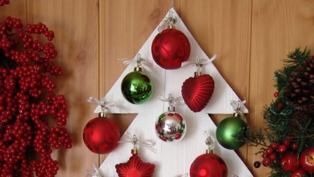 Vyrobte si alternativní vánoční stromeček