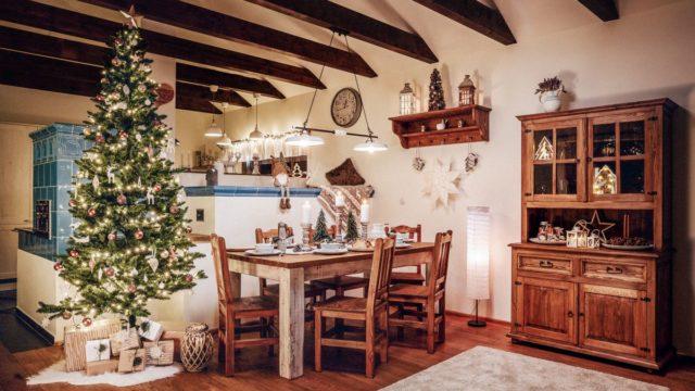 Potrpíte si na vánoční atmosféru? Pak nezapomeňte vyzdobit všechny místnosti