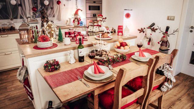 5 tipů, jak prostřít vánoční stůl