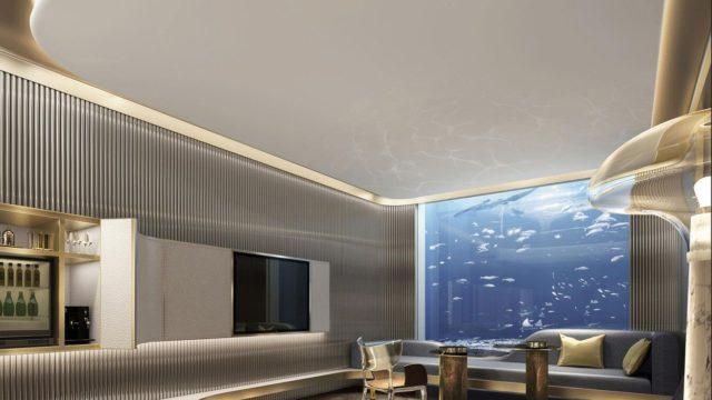 Luxusní hotel vlomu nabízí ubytování pod vodní hladinou