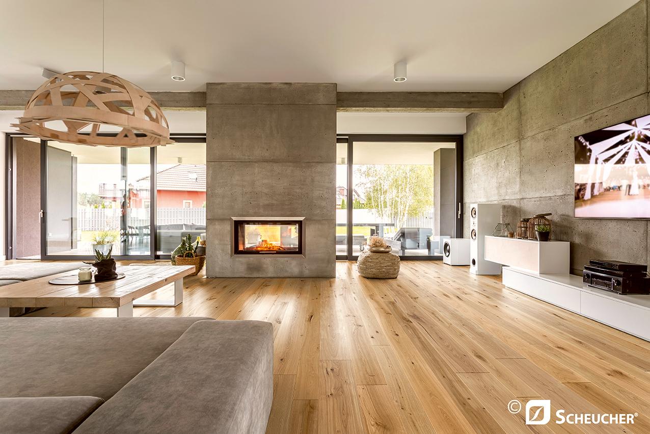 Krásné dřevěné podlahy