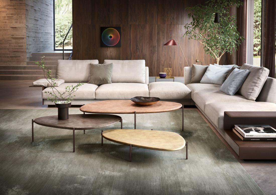Do moderních interiérů se hodí sedačky jednoduchých linií