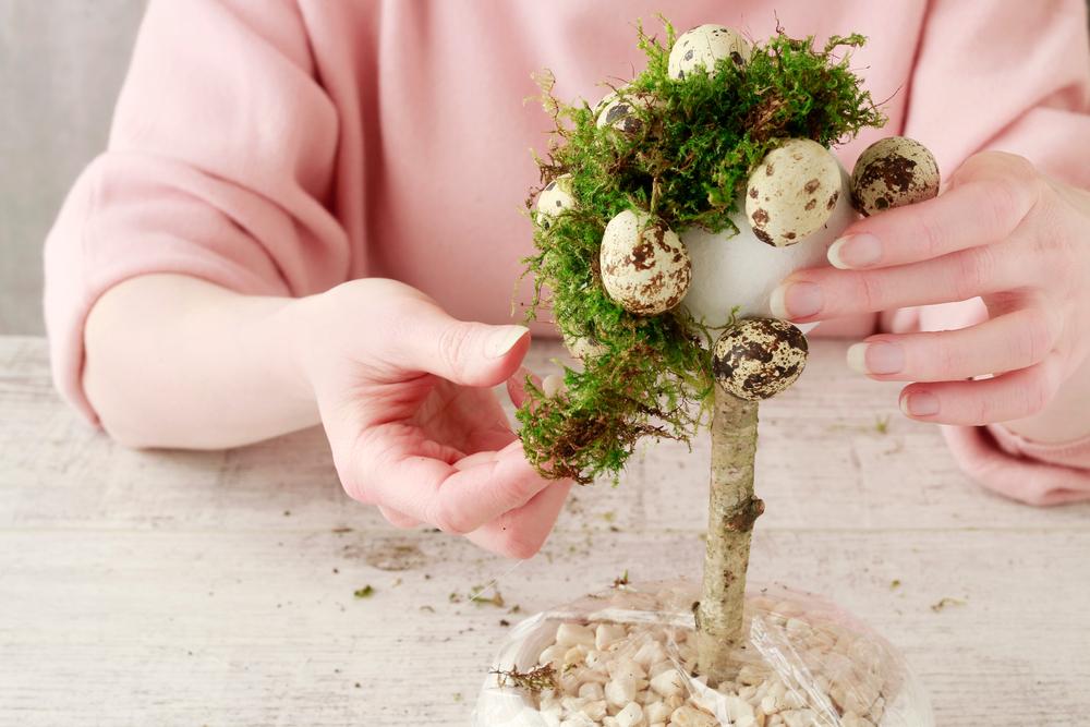 Velikonoční vajíčkový strom – dekorace