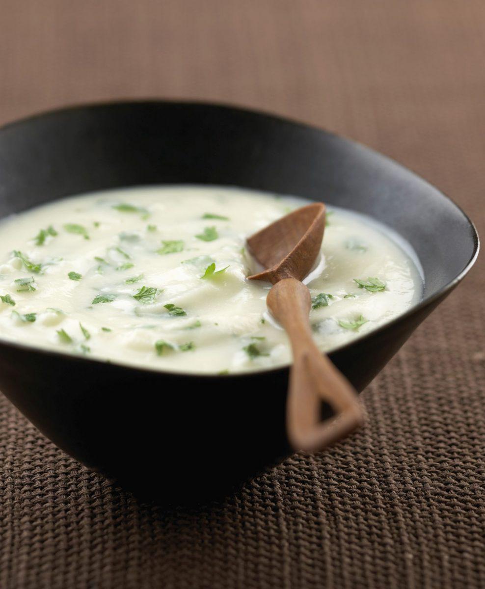 Rybí polévka – superkrémová