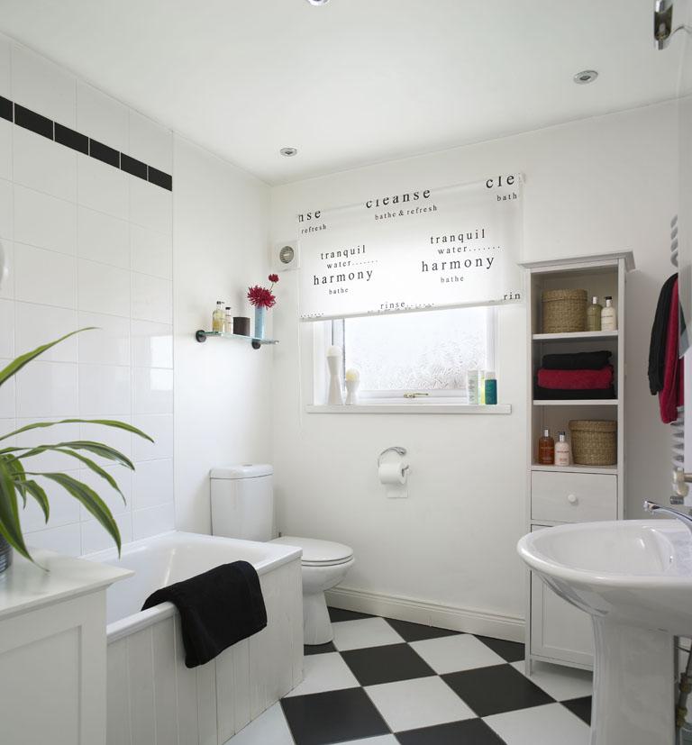"""Praktická koupelna pro ty, kteří jsou """"v jednom kole"""""""