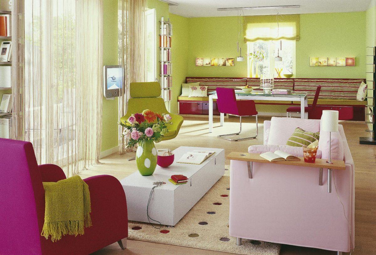 Barevný interiér – fotoinspirace pro vás