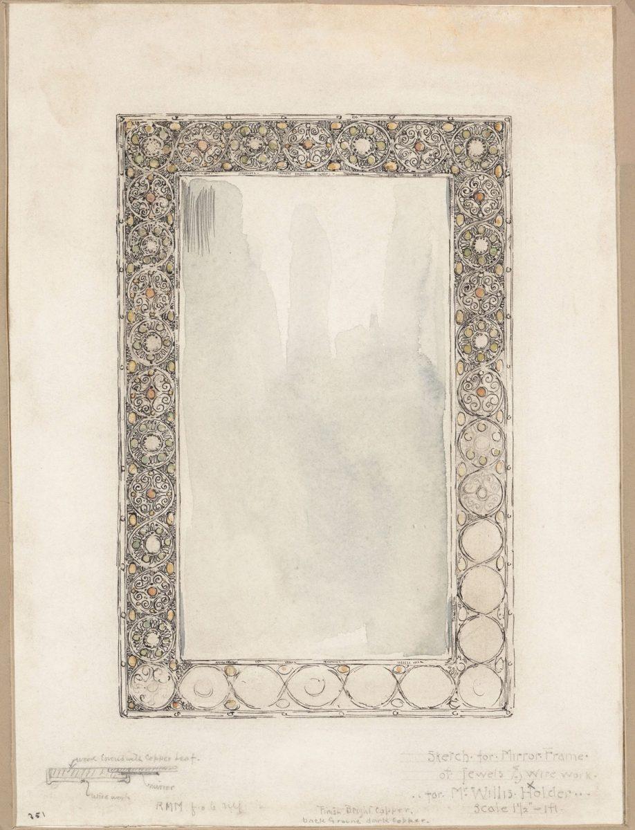 Zrcadlo jako dekorace interiéru