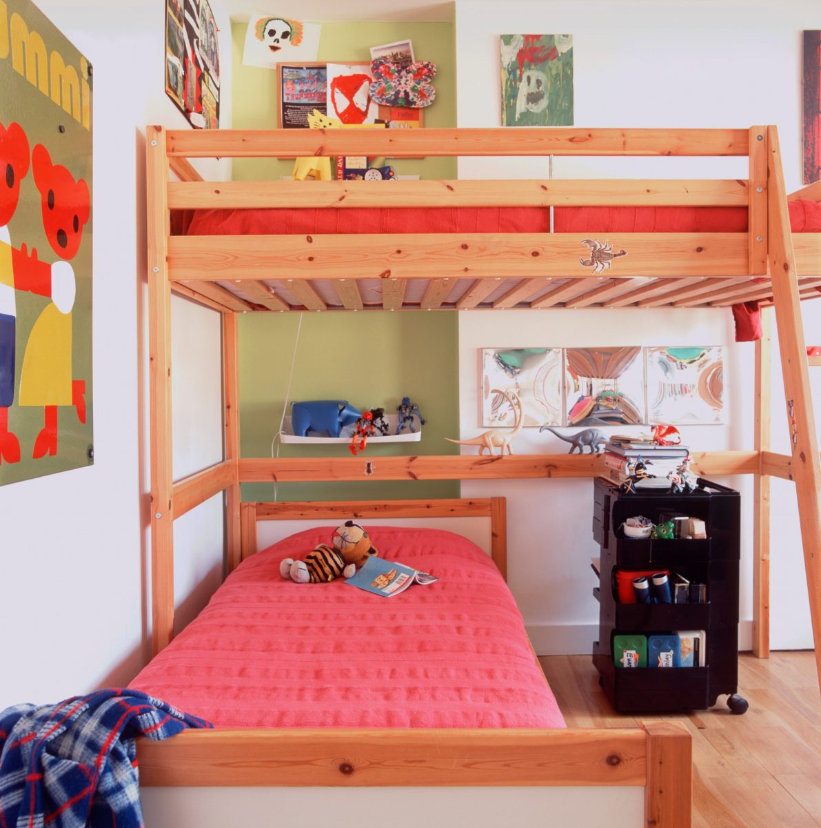 Dvě dětské postele vjednom pokoji apokaždé jinak!