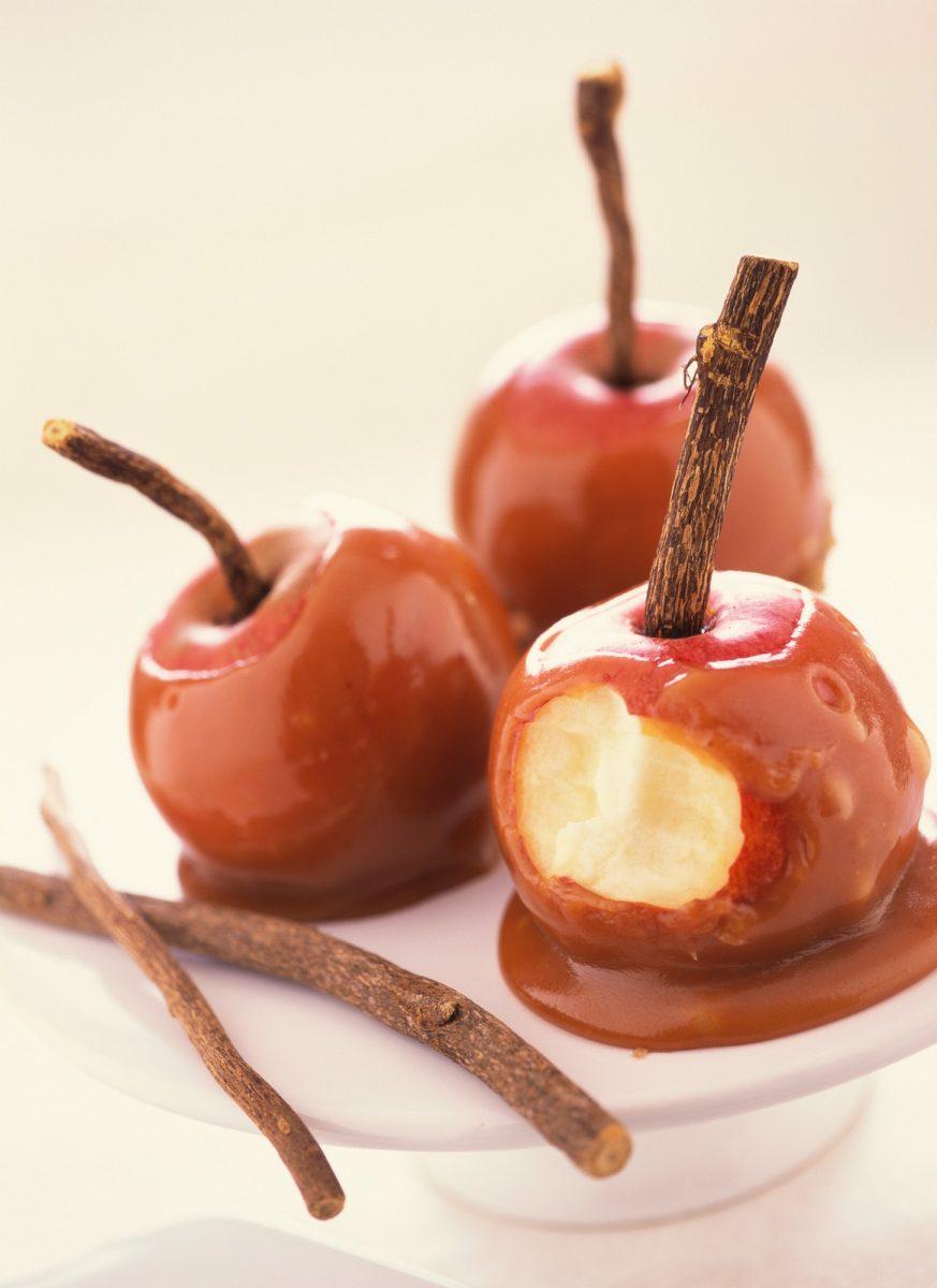 Recepty: Čokoládovokaramelová jablka