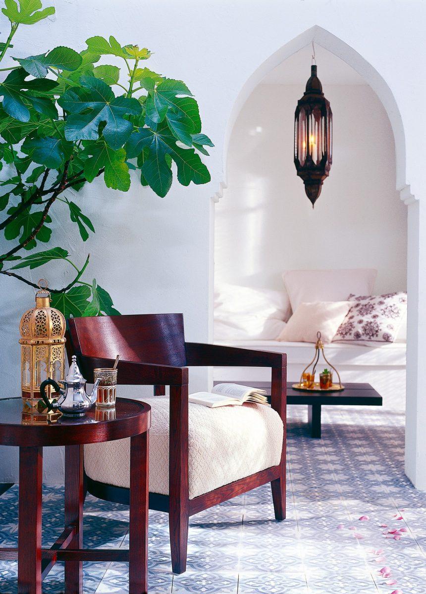Obývací pokoj vmarockém stylu