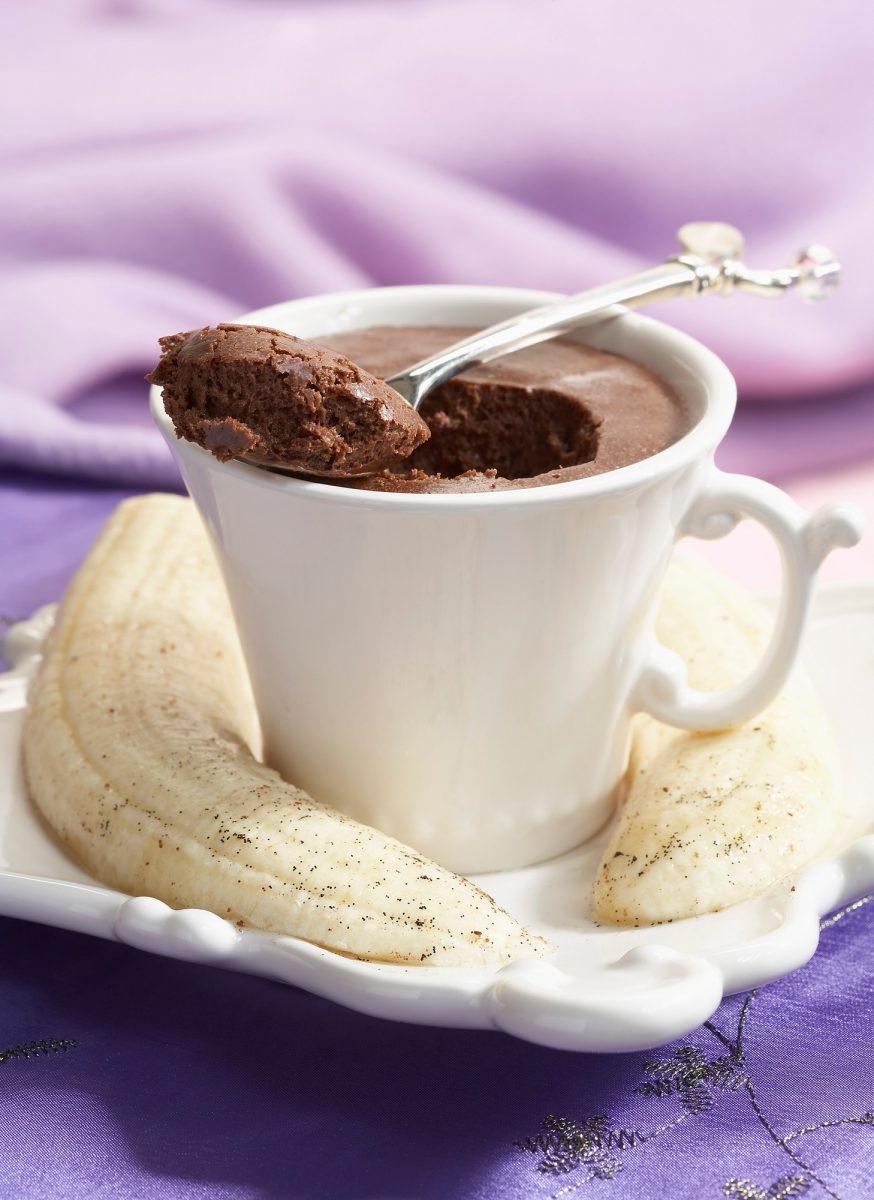 Recepty: Čokoládový dort zmikrovlnky