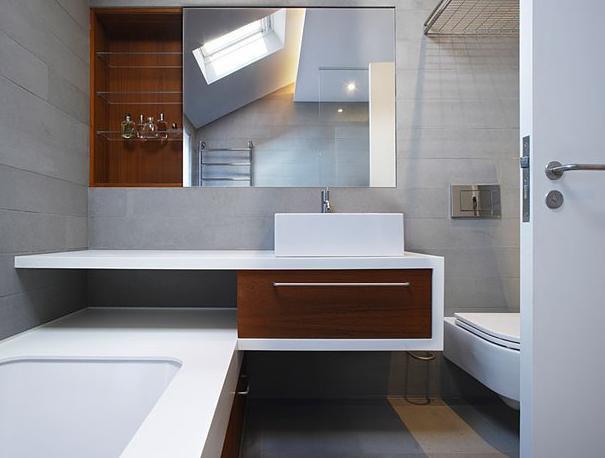 Barevné proměny jedné koupelny