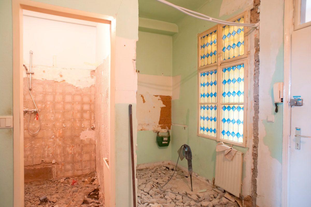 Soutěžní rekonstrukce: Přestavba koupelny akuchyně + topení